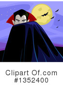 Royalty-Free (RF) Vampire Clipart Illustration #1352400