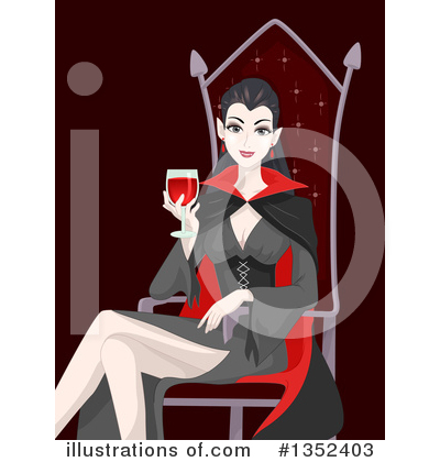 Vampire Clipart #1352403 by BNP Design Studio