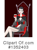 Royalty-Free (RF) Vampire Clipart Illustration #1352403
