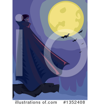 Vampire Clipart #1352408 by BNP Design Studio