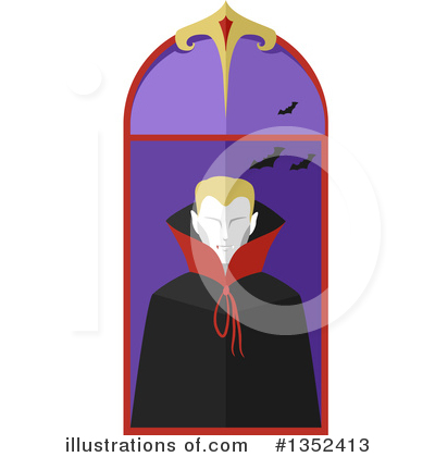 Vampire Clipart #1352413 by BNP Design Studio