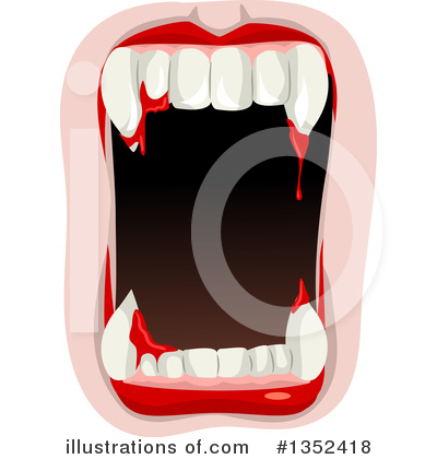 Vampire Clipart #1352418 by BNP Design Studio