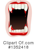 Royalty-Free (RF) Vampire Clipart Illustration #1352418