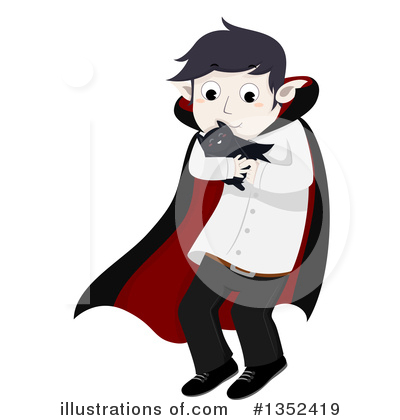 Vampire Clipart #1352419 by BNP Design Studio