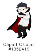 Royalty-Free (RF) Vampire Clipart Illustration #1352419