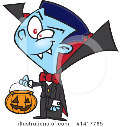 Vampire Clipart #1417765 by toonaday