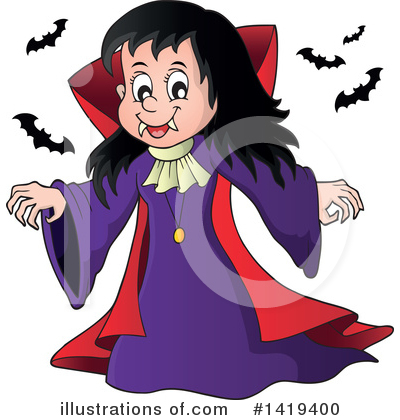Halloween Clipart #1419400 by visekart
