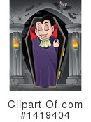 Royalty-Free (RF) Vampire Clipart Illustration #1419404