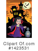Royalty-Free (RF) Vampire Clipart Illustration #1423531