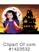 Royalty-Free (RF) Vampire Clipart Illustration #1423532