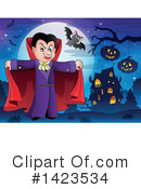 Royalty-Free (RF) Vampire Clipart Illustration #1423534