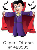 Royalty-Free (RF) Vampire Clipart Illustration #1423535