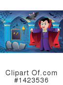 Royalty-Free (RF) Vampire Clipart Illustration #1423536