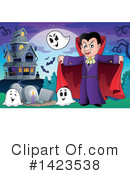 Royalty-Free (RF) Vampire Clipart Illustration #1423538