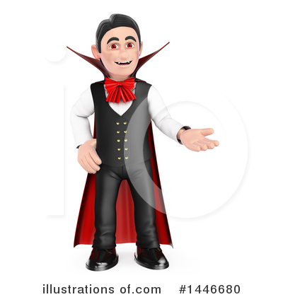 Royalty-Free (RF) Vampire Clipart Illustration by Texelart - Stock Sample #1446680