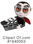 Vampire Clipart #1640053 by Steve Young