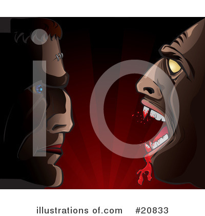 Royalty-Free (RF) Vampire Clipart Illustration by Paulo Resende - Stock Sample #20833