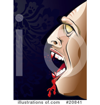 Royalty-Free (RF) Vampire Clipart Illustration by Paulo Resende - Stock Sample #20841