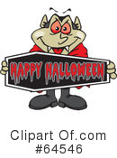 Vampire Clipart #64546 by Dennis Holmes Designs