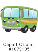 Royalty-Free (RF) Van Clipart Illustration #1079105