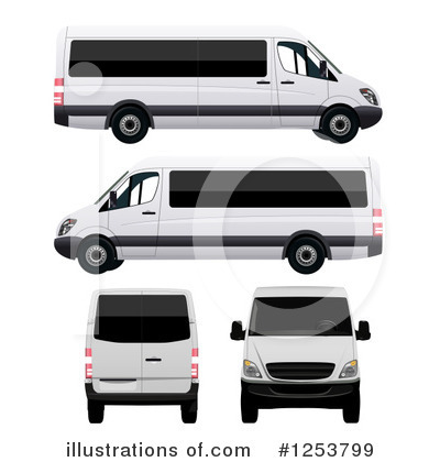 Van Clipart #1253799 by vectorace