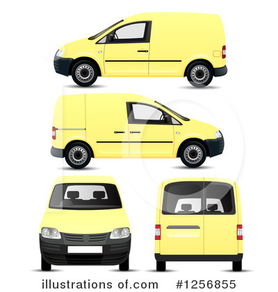 Van Clipart #1256855 by vectorace