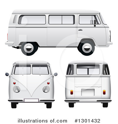 Kombi Clipart #1301432 by vectorace