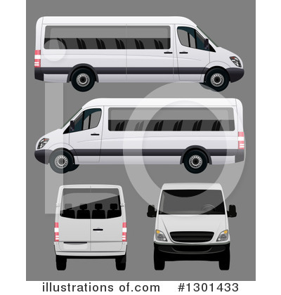 Van Clipart #1301433 by vectorace