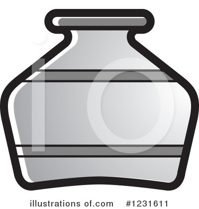 Pottery Clipart #1231611 by Lal Perera