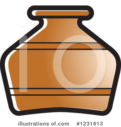 Pottery Clipart #1231613 by Lal Perera