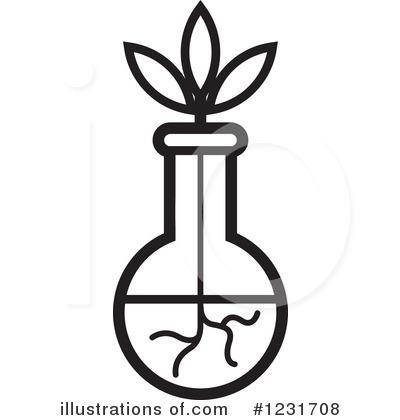 Vase Clipart 1231708 Illustration By Lal Perera