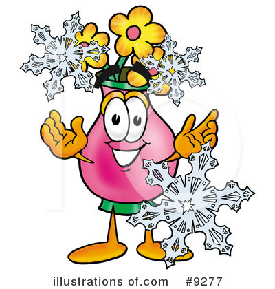 Vase Of Flowers Clipart #9277 by Toons4Biz