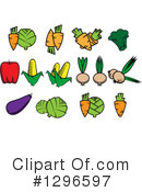 Vegetable Clipart #1296597 by Vector Tradition SM