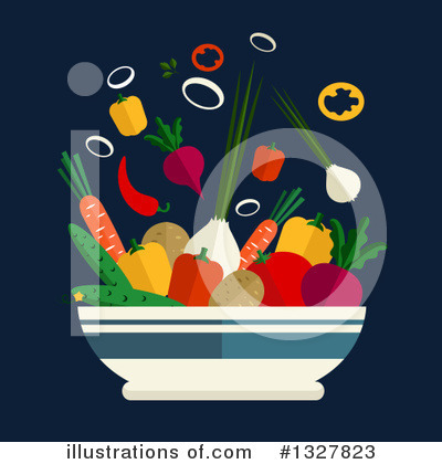 Vegetarian Clipart #1327823 by Vector Tradition SM