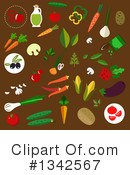 Vegetable Clipart #1342567 by Vector Tradition SM