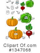 Vegetable Clipart #1347068 by Vector Tradition SM