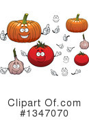 Vegetable Clipart #1347070 by Vector Tradition SM