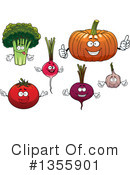 Vegetable Clipart #1355901 by Vector Tradition SM