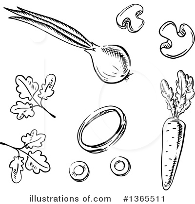 Parsley Clipart #1365511 by Vector Tradition SM