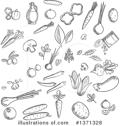 Parsley Clipart #1371328 by Vector Tradition SM