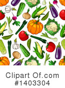 Royalty-Free (RF) Vegetable Clipart Illustration #1403304