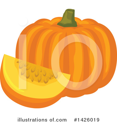 Pumpkin Clipart #1426019 by Vector Tradition SM