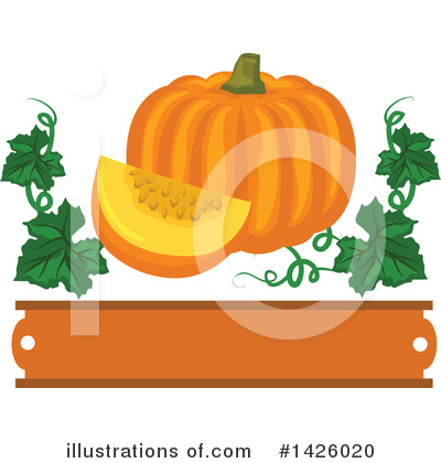 Pumpkin Clipart #1426020 by Vector Tradition SM