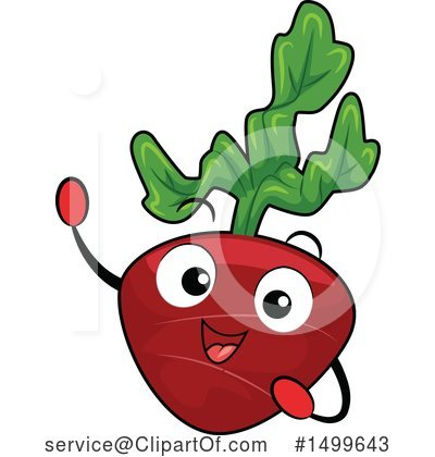 Radish Clipart #1499643 by BNP Design Studio