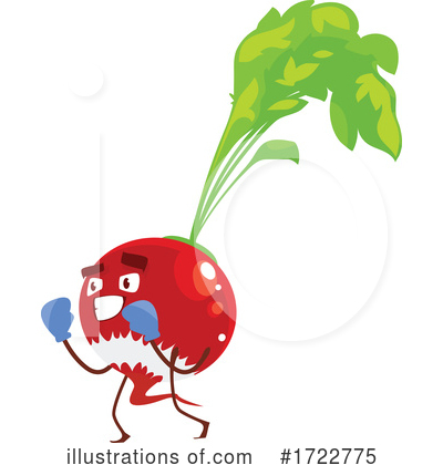 Royalty-Free (RF) Vegetable Clipart Illustration by Vector Tradition SM - Stock Sample #1722775