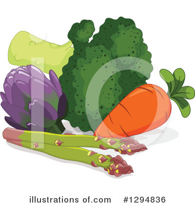 Vegetable Clipart #1294836 by Pushkin