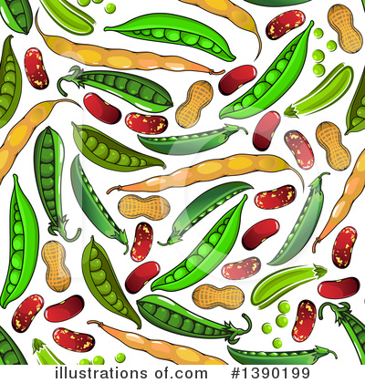 Beans Clipart #1390199 by Vector Tradition SM