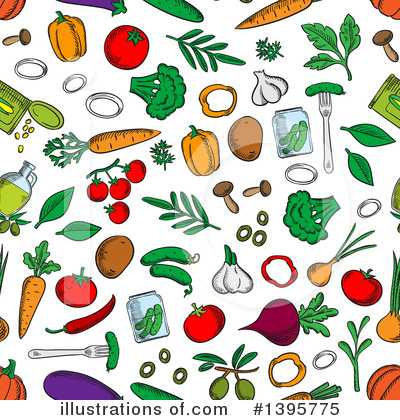Parsley Clipart #1395775 by Vector Tradition SM