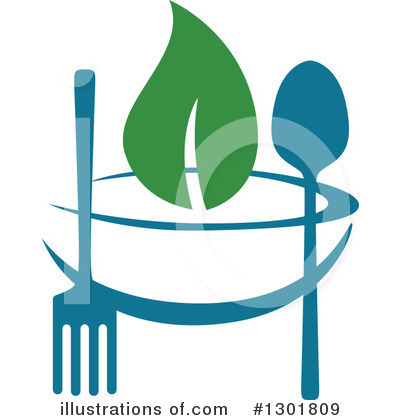 Vegetarian Clipart #1301809 by Vector Tradition SM