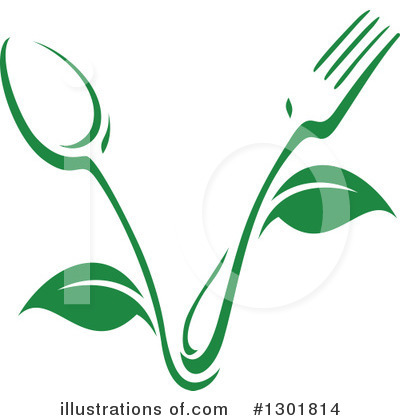 Vegetarian Clipart #1301814 by Vector Tradition SM